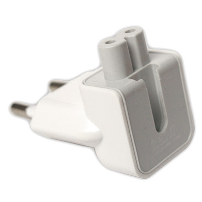 Переходник Apple European AC Plug Power Jack Travel Adapter EU.