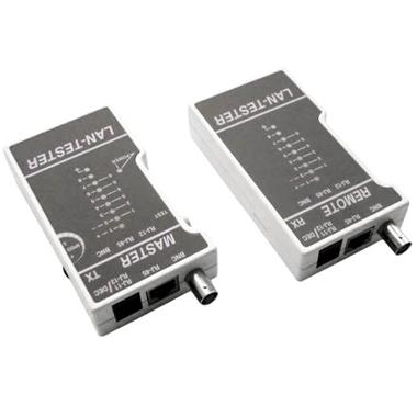 LT-100 Тестер-сканер универсальный для витой пары, коаксиала, телефона.  Монтажные шкафы.