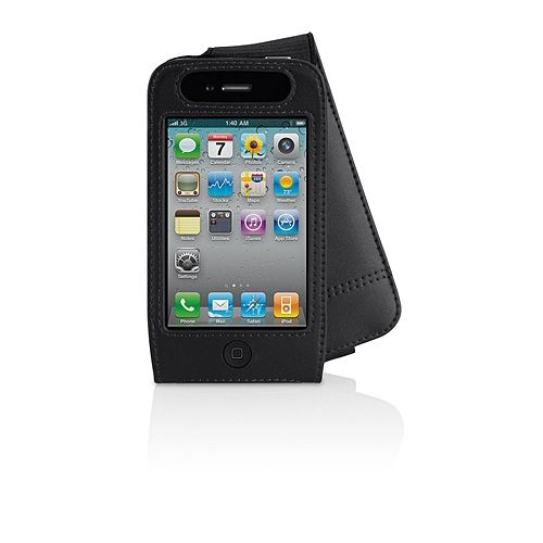Belkin Защитный чехол для iPHONE 4 VERVE FOLIO LEATHER CASE, BLACK.