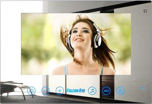 """Falcon Eye FE-78Z Монитор цветной видеодомофон TFT LCD 7 """" , сменная панель в комплекте, на 2 вызывные панели..."""