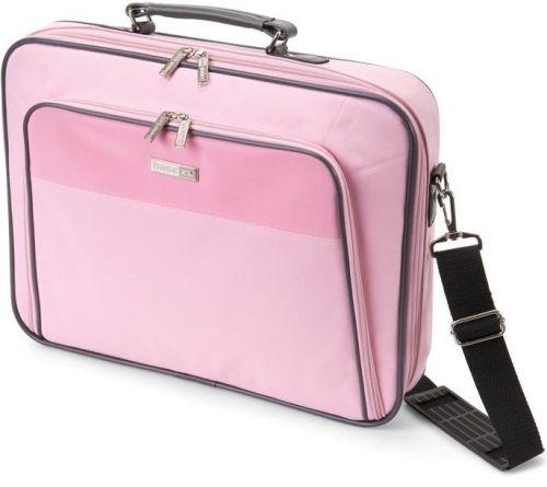 "Сумка для ноутбука Dicota Base XX - Business 17 "" полиэстер,розовая."