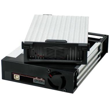 Мобильное шасси Gembird GB2A-1F-B для SATA устр-в 3,5, 1 вентилятор