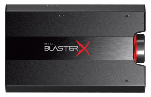 Звуковая карта USB 3.0 Creative Sound BlasterX G5