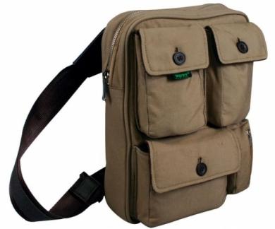 сумка; размер ноутбука, дюймов: 10-12''; материал: холст; цвет...