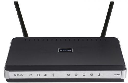 Где купить D-link DIR-615 Маршрутизатор WiFi 300Mbps 802.11 n, 4xLan 10...