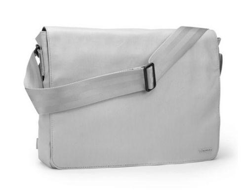 "Incase Canvas Shoulder Bag 15 "" Pale Gray Сумка для MacBook Pro 15 "", серая."